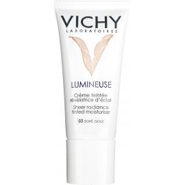 Vichy Lumineuse Crème Teintée Révélatrice d'Eclat Peau Normale et Mixte Doré Mate  30 ml