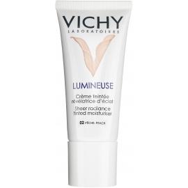 Vichy Lumineuse Crème Teintée Révélatrice d'Eclat Peaux Sèches Pêche Satinée  30 ml