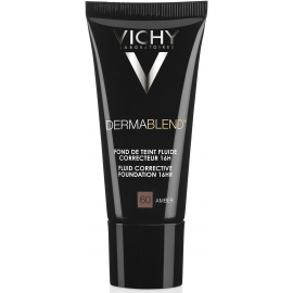 Vichy Dermablend Fond De Teint Fluide Correcteur 60 Amber 30 ml