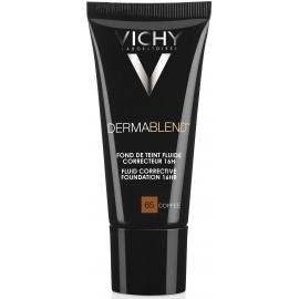Vichy Dermablend Fond De Teint Fluide Correcteur 65 Coffee 30 ml