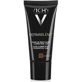 Vichy Dermablend Fond De Teint Fluide Correcteur 75 Espresso 30 ml