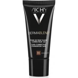 Vichy Dermablend Fond De Teint Fluide Correcteur 85 Chocolate 30 ml