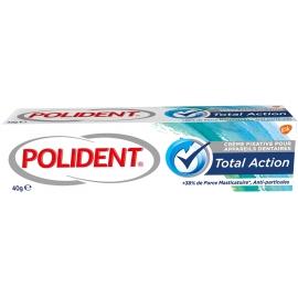 Polident Crème Fixative Pour Appareils Dentaires Total Action 40 g