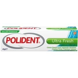 Polident Crème Fixative Pour Appareils Dentaire Ultra Fresh 40 g