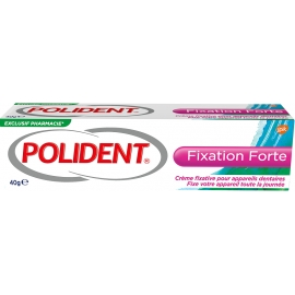 Polident Crème Fixative Pour Appareils Dentaire Fixation Forte 40 g