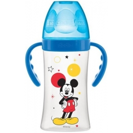 Dodie Biberon Initiation+ Avec Anses 0-6 m 270 ml Mickey