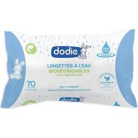 Dodie Lingettes Nettoyantes à L'Eau x 70