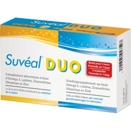 Suveal Duo Rétine 60 Capsules