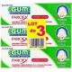 Gum Paroex Gel Dentifrice 75 ML X 2