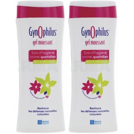 GynOphilus Gel Moussant Action Prébiotique 2 x 250 ml