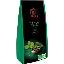 Thés De La Pagode Thé Vert Menthe 100 g