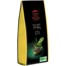 Thés De La Pagode Thé Vert Earl Grey 100 g