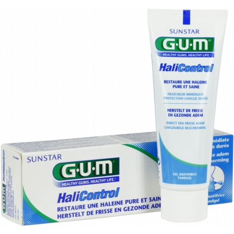 G.U.M HaliControl Gel Dentifrice 75 ml