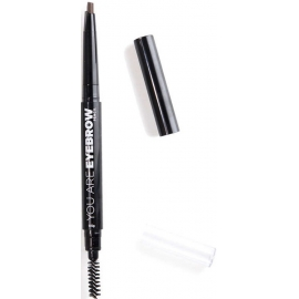 YOU ARE Crayon Sourcils 2 en 1 Deep Brown 0,5 g