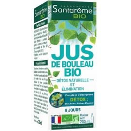 Santarome Bio Jus De Bouleau Bio 200 ml