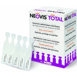 Neovis Total Multi émulsion Ophtalmique Lubrifiante 15 ml