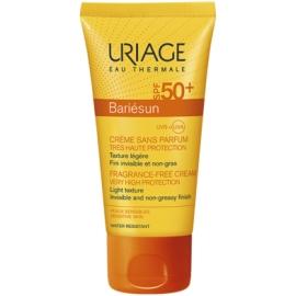 Uriage Bariésun Spf 50 Crème Sans Parfum 50 ml