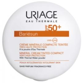 Uriage Bariésun Spf 50+ Crème Minérale Compacte Teintée Dorée 10 gr