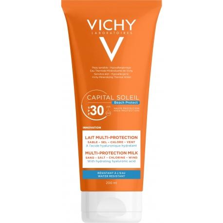 Vichy Capital Soleil Beach Protect Spf30 Lait Multi-Protection 200 ml