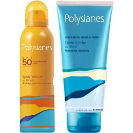 Polysianes Spray Velouté Au Monoï Spf 50 150 ml