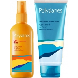 Polysianes Spray Lacté Au Monoï Spf 30 125 ml