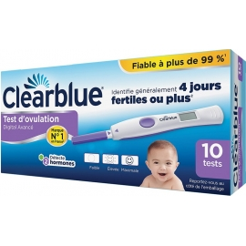 Clearblue Test D'Ovulation Digital Avancé x 10