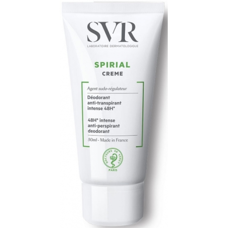 Svr Spirial Déodorant Anti-transpirant Crème 50 ml