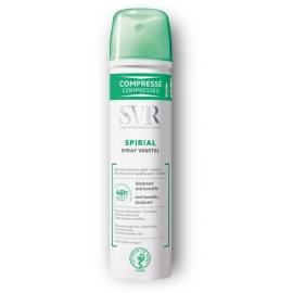 SVR Spirial Déodorant Végétal Anti-transpirant Spray Compressé 75 ml