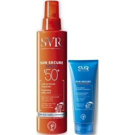 SVR Sun Secure Trousse Spray Spf50+ 200 ml + Après-Soleil 50 ml Offert
