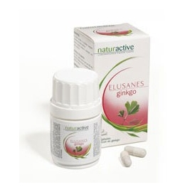 Naturactive Elusanes ginkgo 60 gélules