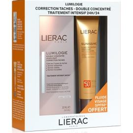 Lierac Coffret Lumilogie + Sunissime Fluide visage SPF50