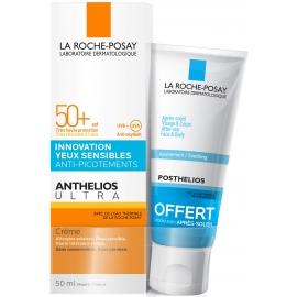 La Roche-Posay Anthelios Ultra SPF50+ Crème 50 ml + Posthelios Après-Soleil 40 ml Offert