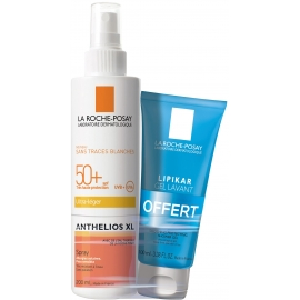 La Roche-Posay Anthelios Spray SPF50+ Avec Parfum 200 ml + Gel Lavant 100ml
