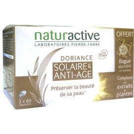 Naturactive Doriance Solaire & Anti-âge 2 x 60 capsules