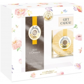 Roger & Gallet Coffret Printemps Bois d'Orange 100 ml + Savon parfumé