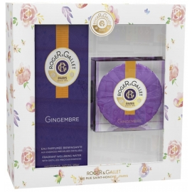 Roger & Gallet Coffret Printemps Gingembre 100 ml + Savon parfumé