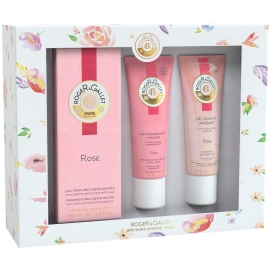 Roger & Gallet Coffret Printemps Rose 100 ml + Rituel parfumé