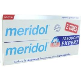 Meridol Parondont Expert Dentifrice 2 x 75 ml