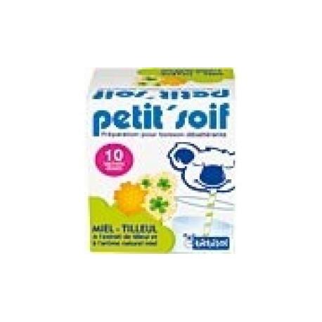Bébisol petit'soif miel-tilleul 10 sachets