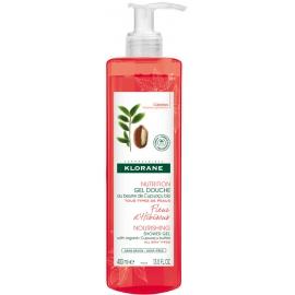 Klorane Nutrition Gel Douche Fleur D'Hibiscus 400 ml