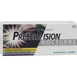 PreserVision Nocturne 30 Comprimés