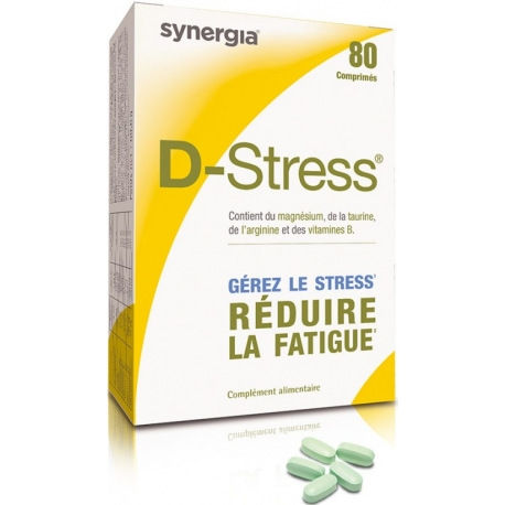D-stress Synergia 80 Comprimes