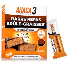 Anaca 3 Barre repas Brûle-graisses x6