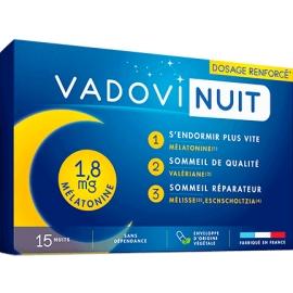 Vadovi Nuit 1,8 mg mélatonine 15 Gélules