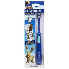 Elgydium Power Kids Brosse à Dents électrique L'âge De Glace Bleue