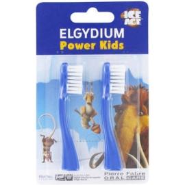 Elgydium Power Kids Recharge Pour Brosse à Dents électrique L'âge De Glace Bleue x 2
