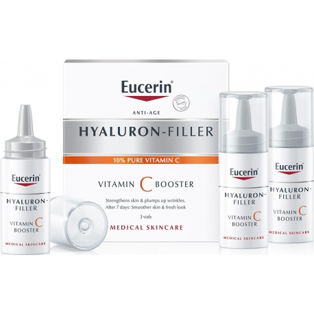 Eucerin Hyaluron-Filler Vitamine C Booster 3 x 8 ml