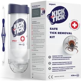 Kick The Tick Kit De Soins Pour Extraction Des Tiques 9 ml