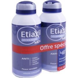 Etiaxil Men Déodorant Aérosol 2 X 150 ml