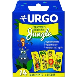"Urgo Pansements Protecteurs ""Jungle"" x 14"